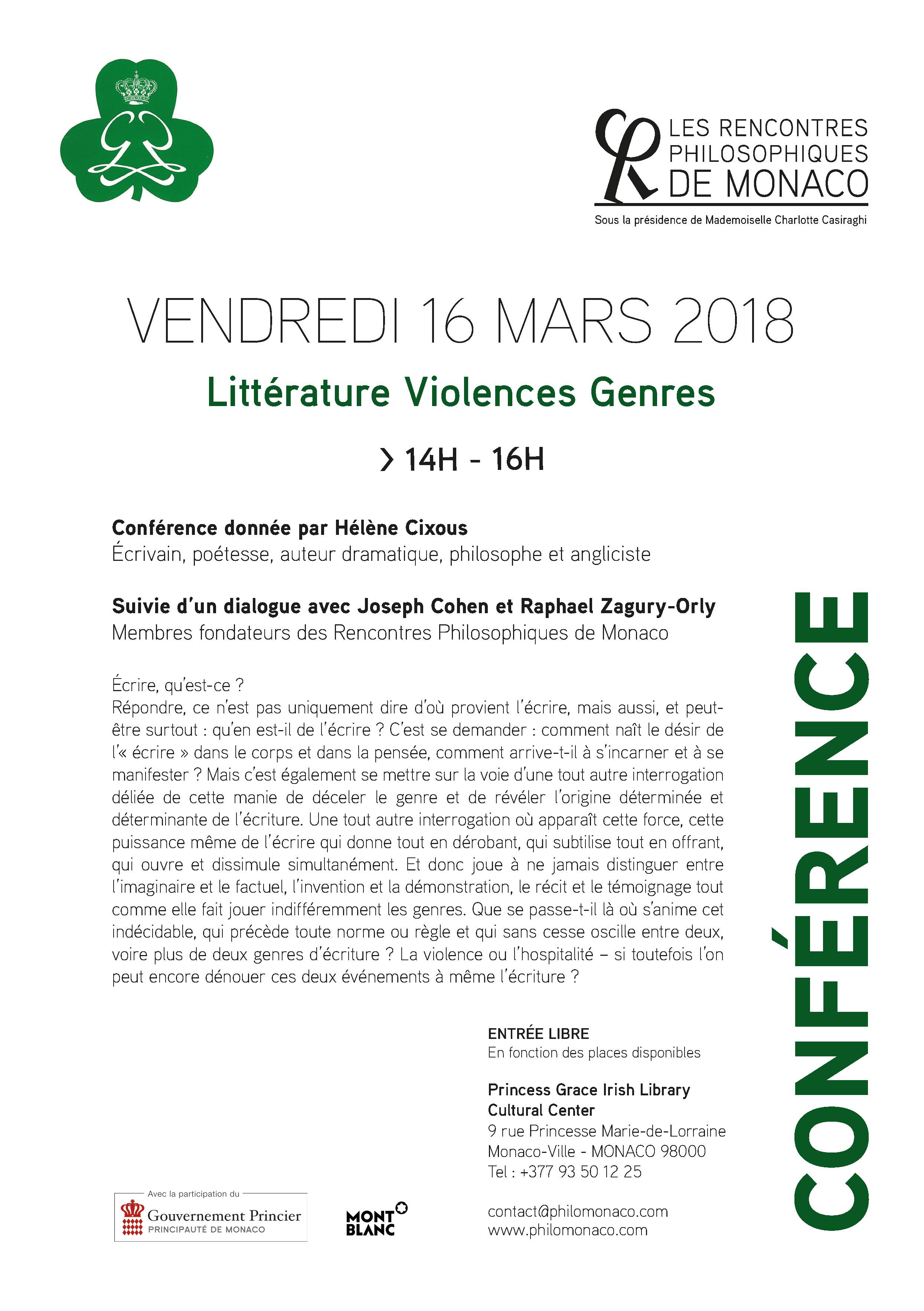 4175, 4175, Littérature Violences Genres 16 mars 2018, litterature-violences-genres-16-mars-2018.jpg, http://philomonaco.com/wp-content/uploads/2018/03/litterature-violences-genres-16-mars-2018.jpg, , 3, , , litterature-violences-genres-16-mars-2018-2, 2018-03-06 12:21:46, 2018-03-06 12:21:50, image/jpeg, image, http://philomonaco.com/wp-includes/images/media/default.png, 2489, 3532, Array